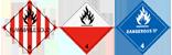 HazMat 4 symbol