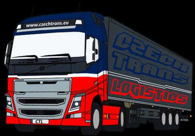 Czech trans Logistics logo