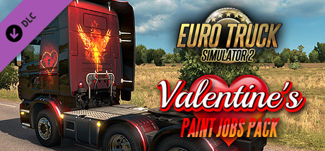 ETS2 Valentine's Paint Jobs Pack