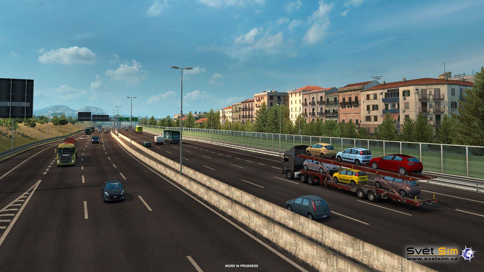 Play Euro Truck Simulator 2 online Vortex Cloud Gaming