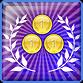 3 Golds achievement